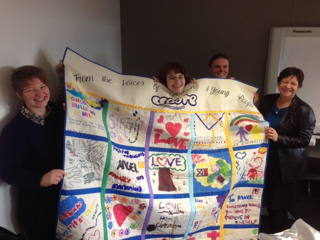 CREATE quilt - Megan Mitchell